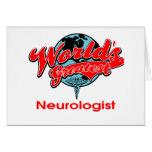 World's Greatest Neurologist Greeting Card