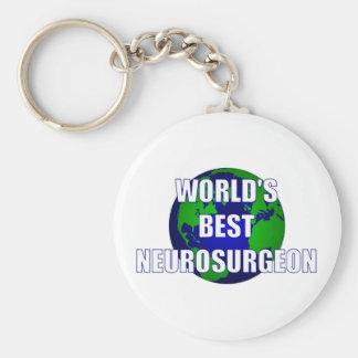 World's Greatest Neurosurgeon Basic Round Button Keychain
