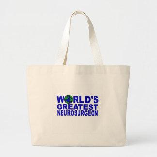 World's Greatest Neurosurgeon Large Tote Bag