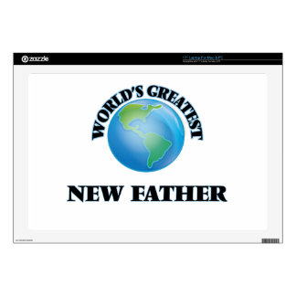 World's Greatest New Father Laptop Skins