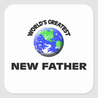 World's Greatest New Father Stickers