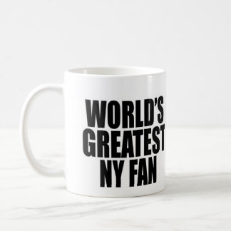 World's Greatest New York Fan Coffee Mug