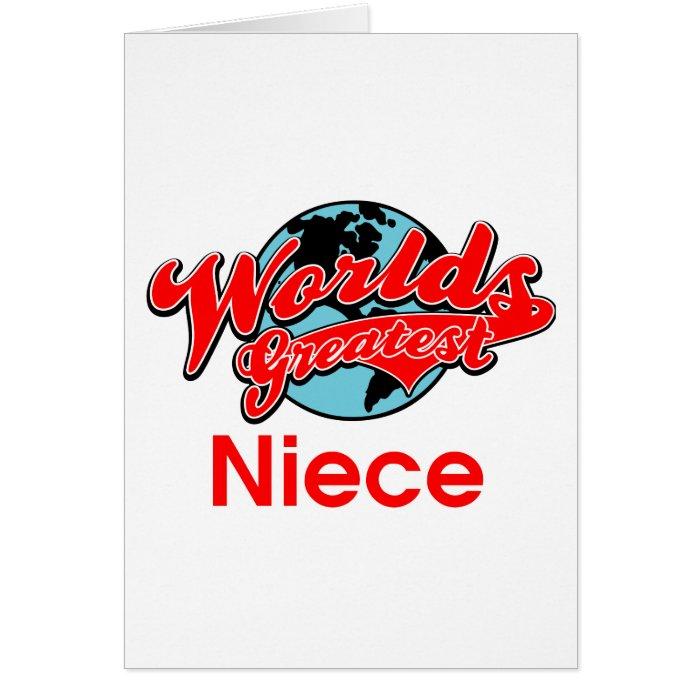 World's Greatest Niece Card