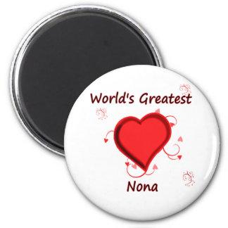 World's Greatest nona Magnet