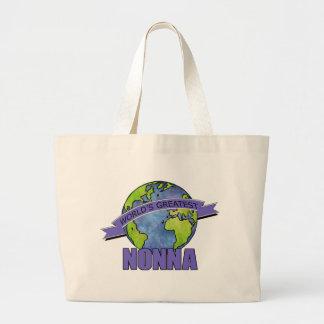 World's Greatest Nonna Jumbo Tote Bag