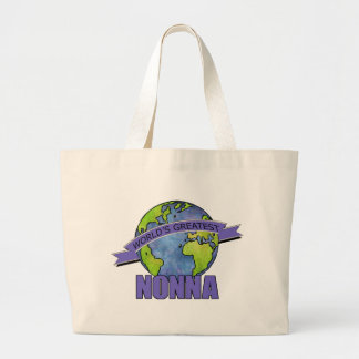 World's Greatest Nonna Large Tote Bag