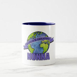 World's Greatest Nonna Two-Tone Coffee Mug