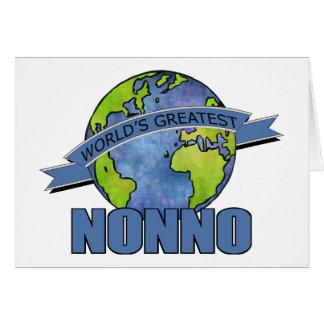 World's Greatest Nonno Card