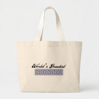 World's Greatest Nonno Large Tote Bag