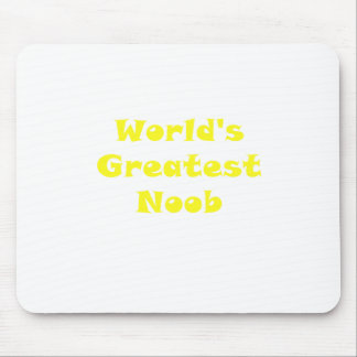 Worlds Greatest Noob Mouse Pad