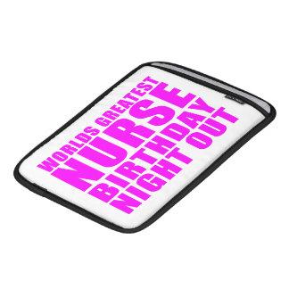 Worlds Greatest Nurse Birthday Night Out iPad Sleeve