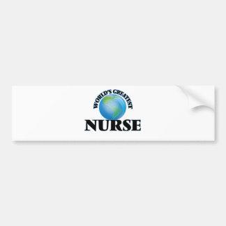 World's Greatest Nurse Bumper Stickers