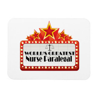 World's Greatest Nurse Paralegal Rectangular Magnets