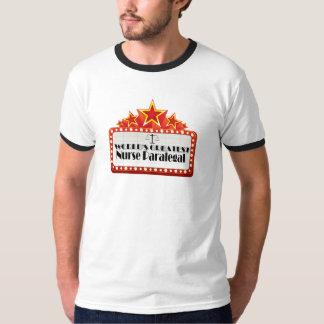 World's Greatest Nurse Paralegal Tee Shirt