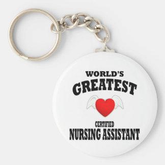 World's Greatest Nursing Assistant Keychain