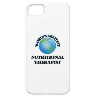 World's Greatest Nutritional Therapist iPhone 5 Case