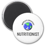 World's Greatest Nutritionist Refrigerator Magnets