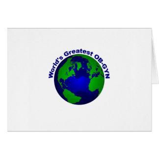 World's Greatest OB-GYN Card