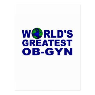 World's Greatest OB-GYN Postcard