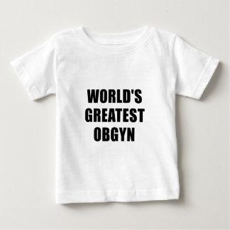 Worlds Greatest OBGYN Baby T-Shirt