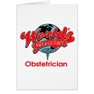 World's Greatest Obstetrician Card