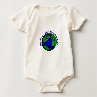 World's Greatest Oceanographer Baby Bodysuit