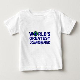 World's Greatest Oceanographer Baby T-Shirt