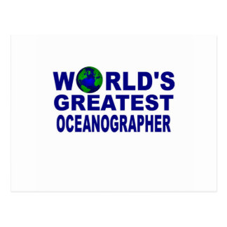 World's Greatest Oceanographer Postcard