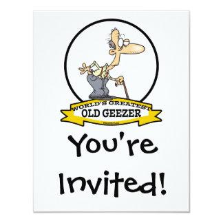 WORLDS GREATEST OLD GEEZER CARTOON CARD