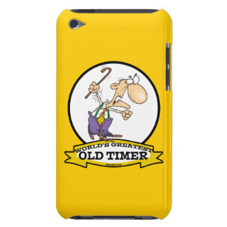 WORLDS GREATEST OLD TIMER CARTOON iPod Case-Mate CASES