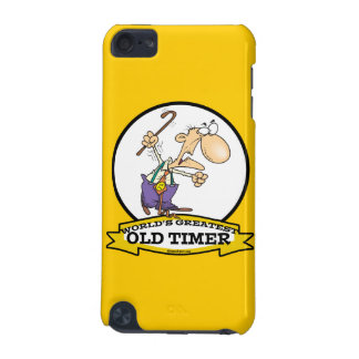 WORLDS GREATEST OLD TIMER CARTOON iPod TOUCH (5TH GENERATION) CASES