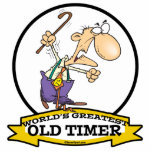 WORLDS GREATEST OLD TIMER CARTOON PHOTO SCULPTURES