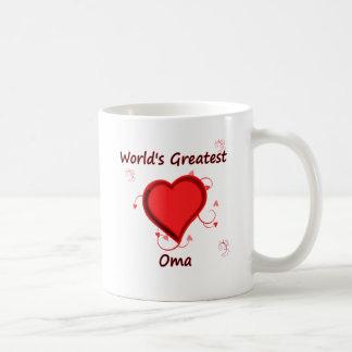 World's Greatest oma Coffee Mug