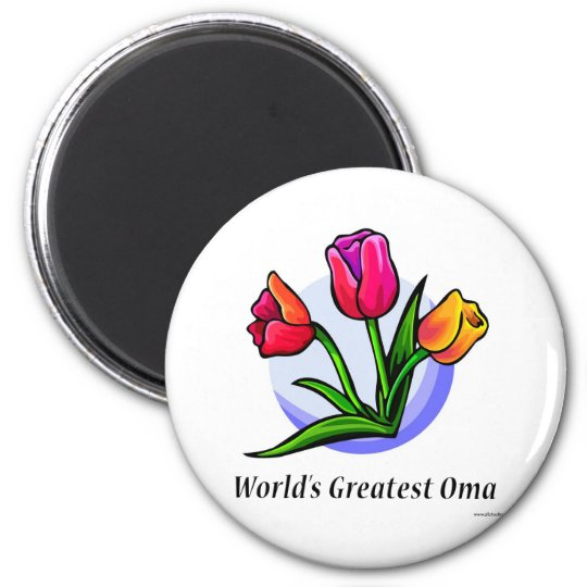 World's Greatest Oma Magnet
