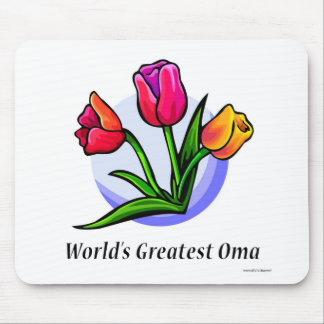World's Greatest Oma Mouse Pad