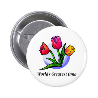 World's Greatest Oma Pinback Button