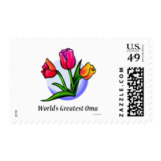 World's Greatest Oma Postage Stamp
