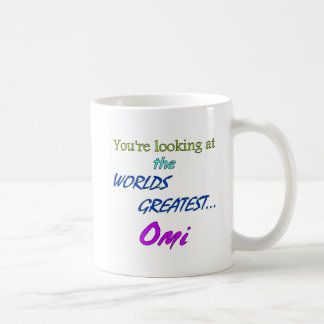 Worlds Greatest Omi Classic White Coffee Mug