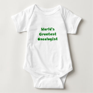 Worlds Greatest Oncologist Baby Bodysuit