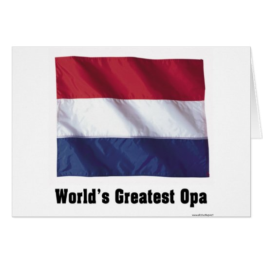 World's Greatest Opa Card