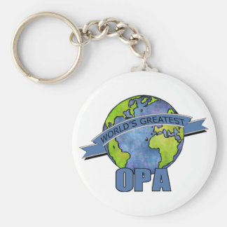 World's Greatest Opa Key Chains