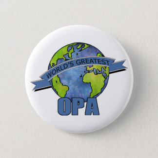 World's Greatest Opa Pinback Button