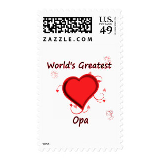 World's Greatest opa Stamp
