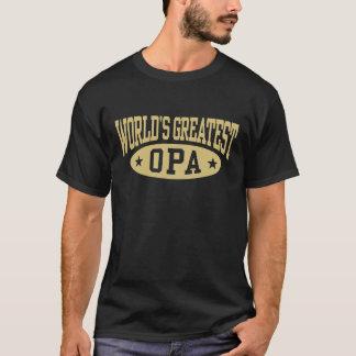 World's Greatest Opa T-shirt