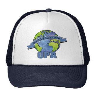 World's Greatest Opa Trucker Hat