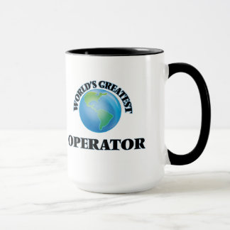 World's Greatest Operator Mug
