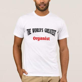 World's Greatest Organist T-Shirt