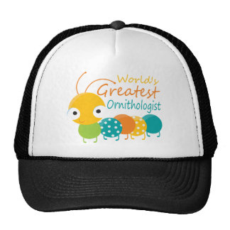World's Greatest Ornithologist Trucker Hat