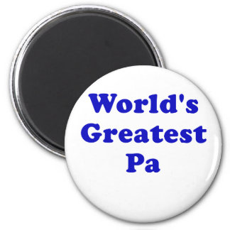 Worlds Greatest Pa Magnet