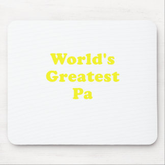 Worlds Greatest Pa Mouse Pad